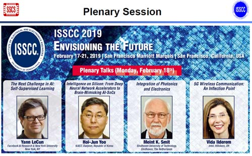 図ISSCC 2019 Plenary Session