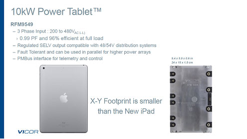 10kW Power Tablet