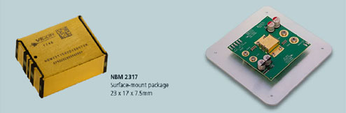 NBM 2317 Surface-mount package 23*17*7.5mm