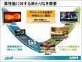 アーム社が着実に市場を拡大するため三つの新製品をARM Forum 2010で発表