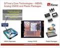 MEMSでなければ性能出せない製品が登場、センサネットワークへの応用も進展