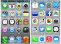 iPhone向け新OS(iOS 7)に見るアイコンのフラットデザインへの変遷
